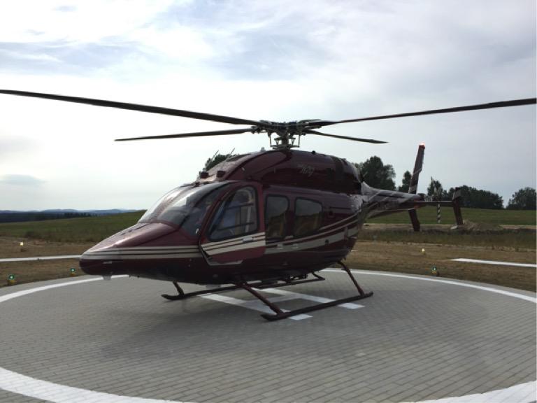 Dva nové heliporty s nejmodernější technologií a procesy