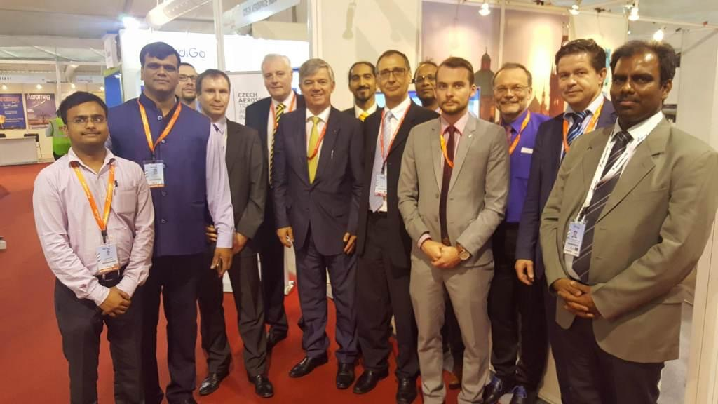 Účast Hypery na India Aviation International Exhibition & Conference on Civil Aviation
