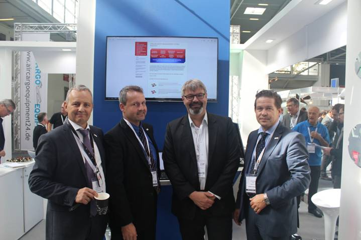 Účast týmu Hypera Aviation Solutions na výstavě Inter Airport Europe 2015