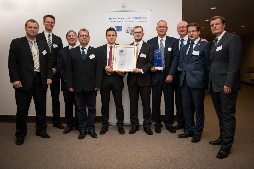 Zlatá medaile pro Škoda Auto: Nejlepší logistický systém v Evropě
